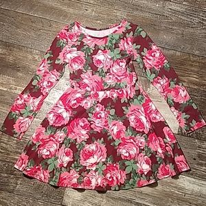 The Children's Place Pink Long Sleeve Dress